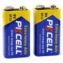 PKCELL BATTERY 9Vマンガン電池 6F22-2B