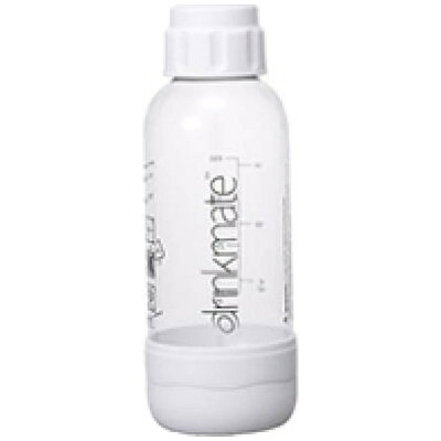 ドリンクメイト ソーダメーカー ドリンクメイト 用専用ボトルSサイズ DRM0021 ホワイト