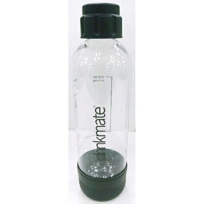 ドリンクメイト drinkmate 炭酸水メーカー 専用ボトル Lサイズ ブラック DRM0026