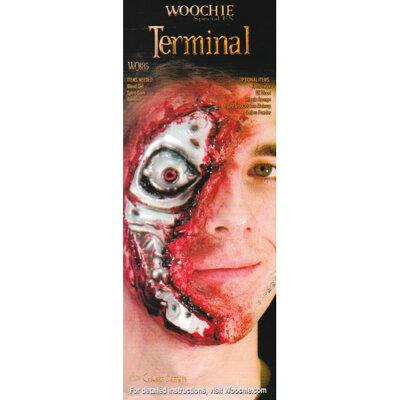 シネマシークレット 特殊メイクシリーズ ラテックスパーツ 傷 Terminal WO185