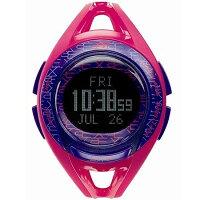 ニューバランス 腕時計 ランニングウォッチ EX2-903-005 ピンク×パープル