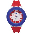 ニューバランス new balance 腕時計 STYLE 503 3針 ブルー×レッド キッズ/レディース ST-503-002