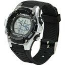 タイムピース 電波 アラーム メンズ 腕時計 TPW-003BK ブラック
