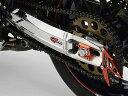 ストライカー G STRIKER スイングアーム STD チェーンアジャスターカラー:ブラック GPZ900R ZRX1200ホイール アクスル径Φ20