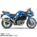 SV650 Two Brothers Racing V.A.L.E. スリップオンマフラー ブラックシリーズ