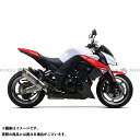 Z1000 水冷 Two Brothers Racing デュアルスリップオン エキゾーストシステム