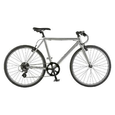 ライトウェイ 24型 クロスバイク シェファード マットグレーシルバー/460サイズ 適応身長:150cm以上