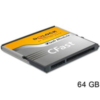 DeLOCK CFast card TypeI 64GB 54651