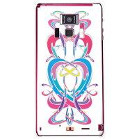 (docomo REGZA Phone T-01D専用) プリントケース クリアベース(ivy 「Woman」)