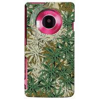 LUMIX Phone 101P専用カバー高品質フィルムプリントで側面までキレイなスマホケース!しかも2層クリアコート仕上げ!マリファナ迷彩 ルミックスフォン/スマートフォンアクセサリー/スマートホン/携帯電話