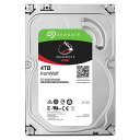 Seagate ST4000VN008 Guardian IronWolfシリーズ 3.5インチ内蔵HDD 4TB SATA 6.0Gb/ s 5900rpm 64MB