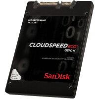 SanDisk SDLF1CRR-019T-1HA2 CloudSpeed Eco Gen.IIシリーズ SSD 1920GB SATA 6Gb/ s 2.5インチ 7mm MLC 国内正規代理店品
