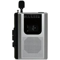 STAYER ポータブルカセットレコーダー シルバー BC-CR01/SL