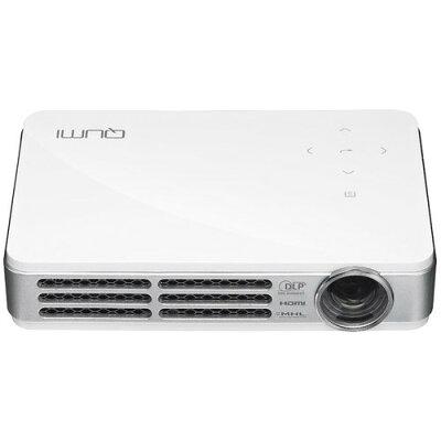 QUMI LEDモバイルプロジェクター Q5-リフレッシュ ホワイト Q5-R-WT(1セット)