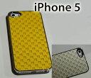 iPhone5用ケース ラティス イエロー