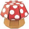 FunnyPaper ファニーペーパー Mushroom Stool Dot 段ボール椅子 TKSI 204 27×27×22.8cm TKSI 205