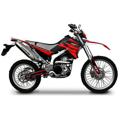 MDF エムディーエフ ステッカー・デカール 車種別グラフィックデカールキット WR250Rアタッカ スイングアーム部分、左右セット WR250R