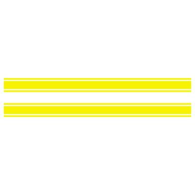 mdf エムディーエフ ステッカー・デカール ライングラフィック ストライプタイプ サイズ:スモール 長さ:  幅: ・