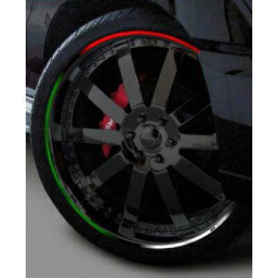 MDF エムディーエフ ステッカー・デカール トリコローレ リムストライプ カラー:トリコタイプ サイズ:25インチ