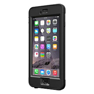 (LIFEPROOF)nuud for iPhone6 Black + 強化ガラス液晶保護フィルム for LIFEPROOF nuud