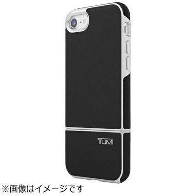 CASEPLAY iPhone 7用 2 PC SLIDER CASE Black Leather/ブラック TUMI