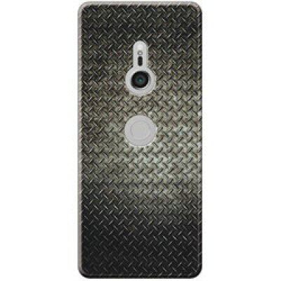 CASEPLAYJAM Xperia XZ3 PCケース Iron Plate Black Metal 01-0105-0003-c13-xtz3-m01