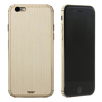 PLAIN COVER for iPhone 6/6s ASH 木製 カバー アッシュ