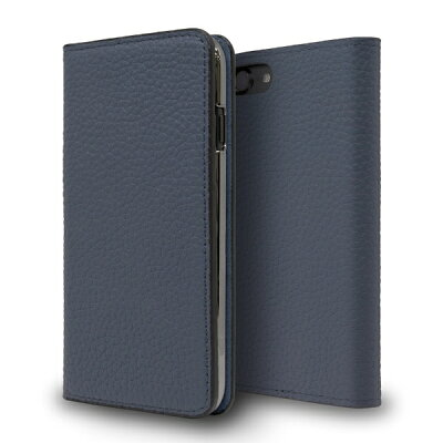 CASEPLAY Leather Folio Case for iPhone 8 Navy CP-AP-PHE8-7304