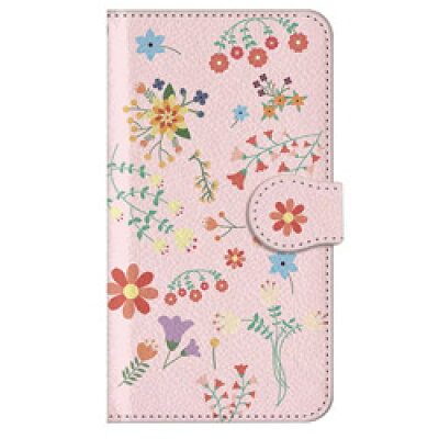 CASEPLAYJAM Xperia XZ3 手帳ケース キュートな花柄 01-0104-0004-c09-xtz3-m03