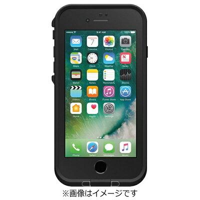 CASEPLAY iPhone 7用 fre case ブラック LIFEPROOF
