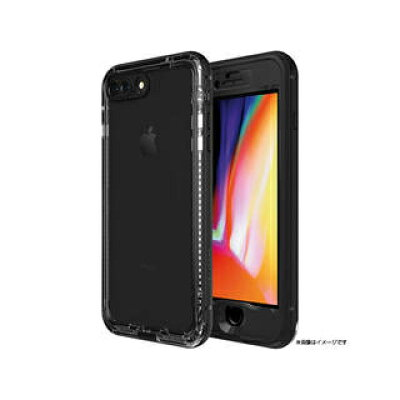 CASEPLAY Nuud Series for iPhone 8 Plus Black