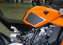 Techspec テックスペック グリップスタータンクパッド 5ピースキット 素材:スネークスキン KTM RC8 1190