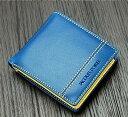 ジャック・ポワリエ 牛革二つ折り財布-フランスの伝統- JP-5003(ネイビー)