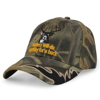 ベースボールキャップ 刺繍入り ハンターズ リアルツリー ハンターキャップ Hunters Will Do Anything For Buck