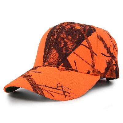 Mossy Oak ブレイズオレンジ 野球帽 リアルツリー 狩猟用キャップ MOSSYOAK
