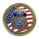 チャレンジコイン FBI 紋章 記念メダル