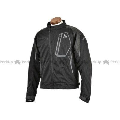 アーバニズム urbanism ライドメッシュジャケット BLACK/BLACK L 品番:UNJ-066/BK/BK/L