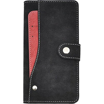 PLATA Xperia エクスペリア Z5 用 スライド カード ポケット ソフト 黒 DSO01H-97ABK