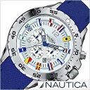 ノーティカ Nautica NST CHRONO FLAGS A24513G