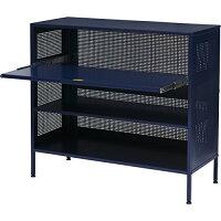 journal standard Furniture ALLEN STEEL SHELF NAVY