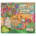 ラング LANG アートカレンダー 2021年 Lisa Kaus Color My World カントリー ガーリー インテリア 令和3年 暦