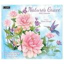 ラング LANG 輸入 2021 カレンダー アート Susan Winget Nature's Grace カントリー ボタニカル インテリア 令和3年 暦