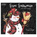 ラング LANG アートカレンダー 2021年 Susan Winget Sam Snowman カントリー 雪だるま インテリア 令和3年 暦