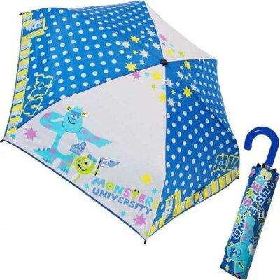 ジェイズプランニング 折りたたみ傘 モンスターズユニバーシティ ドット キャラクター 生地 53cm (90205)