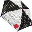 スヌーピー キャラクター折畳傘(モノトーン) 060995