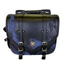 Xross クロス サドルバッグ・サイドバッグ SADDLE SINGLE サドルバッグ サイドバッグ カラー:ブルー