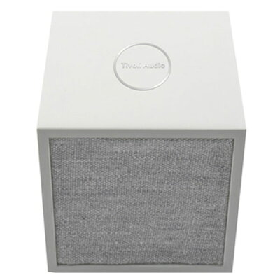 TIVOLI AUDIO CUBE WHITE/GREY ワイヤレススピーカー