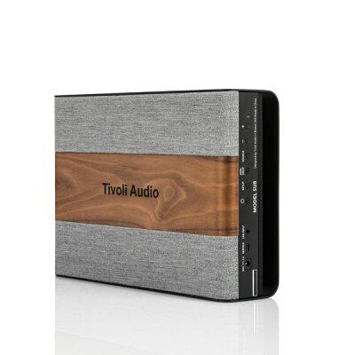TIVOLI AUDIO スピーカー MODEL SUB ウォールナット/グレー
