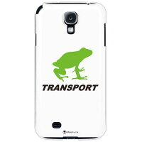 TRANSPORT FROG ホワイト×ブラック (クリア) / for GALAXY S4 SC-04E/docomo(SECOND SKIN)
