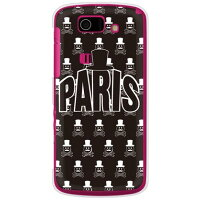 Code;C (PARIS) ブラック (クリア) / for AQUOS PHONE SL IS15SH/au (SECOND SKIN)